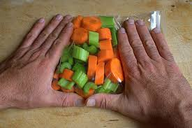 Freezing Root Vegetables - how to freeze raw celery and carrots leaftv