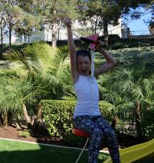 how to build a backyard zipline oc mom blog
