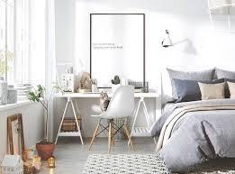 style chambre a coucher adulte bureau style scandinave à la maison 25 idées chic et pratiques à la