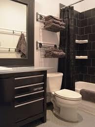 bathroom basket storage houzz