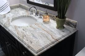 fantasy brown leathered granite bathroom traditional with vanity