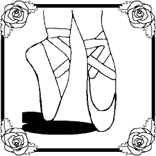 ballet coloring pages ballerina feet coloringstar
