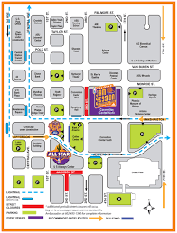 Asu Campus Map All Star 2009 Road Closures The Official Site Of The Phoenix Suns