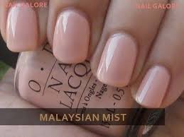 opi wedding colors nail opi malaysian mist by lacy