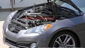 hyundai genesis coupe supercharger supercharged hyundai genesis coupe in the works autoblog