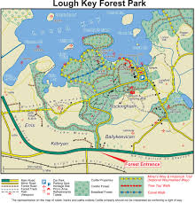 The Forest Map Park Map Lough Key Forest Parklough Key Forest Park