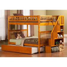 Woodland Bunk Bed Woodland Staircase Bunk Bed With Trundle Bed