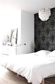 Wallpaper Accent Wall Ideas Bedroom 38 Best Black U0026 White Bedroom Images On Pinterest Architecture