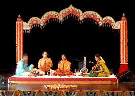 arangetram decoration treats of tradition vocal and mridangam arangetram