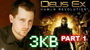 adam jensen plays deus ex youtube