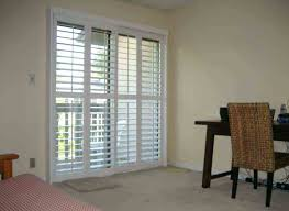 Bypass Shutters For Patio Doors Bypass Plantation Shutters For Sliding Doors Sliding Door Designs