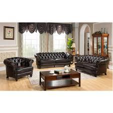 tufted leather sofa chesterfield leather sofa company centerfieldbar com