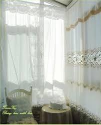 Battenburg Lace Curtains Panels Vintage Battenburg Lace White Cotton Shower Curtain Http Www