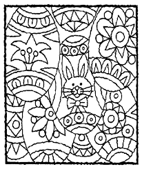 easter bunny coloring crayolacom easter basket coloring