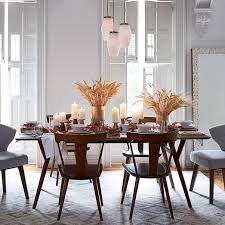 west elm mid century dining table wonderful danish modern dining room chairs with mid century