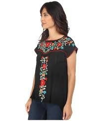 Double D Ranch Clothing Double D Ranchwear Mercado Top In Black Lyst