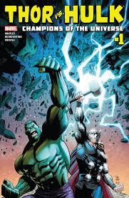 marvel u0027s 2nd comixology exclusive u2013 thor hulk champions