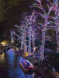 lights on the river walk