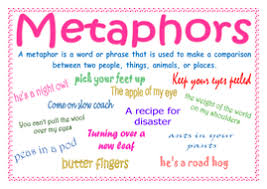 metaphors definition and examples by lynellie teaching resources