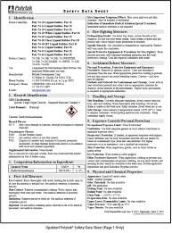Ghs Safety Data Sheet Template Whmis 2015 Understanding The Safety Data Sheets Ohs Insider