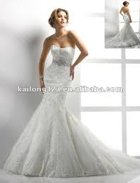 fishtail wedding dress aliexpress buy sweetheart trumpet chapel