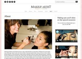 makeup artists websites makeup artist theme theme for makeup artists