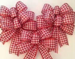 White Bows For Tree Tree Bows Decorative Polka Dots Bows