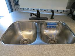 changing kitchen faucet life rebooted u2013 replacing our kitchen faucet