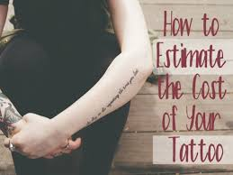 how much does a tattoo cost tatring