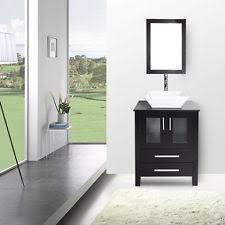 Bathroom Vanity With Top Combo Elecwish 24 Bathroom Top Vanity Cabinet Wood Bowl Vessel Sink