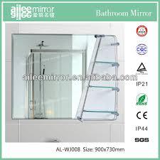 Bathroom Mirror With Shelf by Bathroom Mirror With Glass Shelf Bathroom Mirror With Glass Shelf