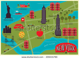 map of new your new york city map free vector stock graphics images