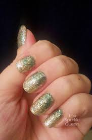 christmas glitter gradient nail art a sparkly life for me