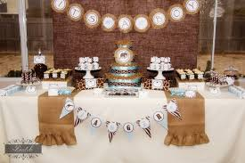 teddy baby shower theme stylish ideas blue and brown baby shower decorations impressive