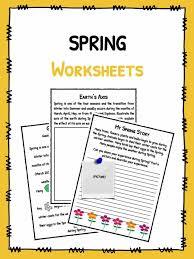 spring facts worksheets u0026 historical information for kids