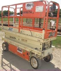 1997 jlg 2033e scissor lift item f7105 sold september 1
