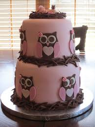 owl baby shower cake pink owl baby shower cakes party xyz
