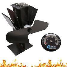 ecofan wood stove fan heat powered stove fan aluminum silent wood log burner fireplace