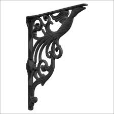 furniture magnificent iron wall brackets decorative shelf