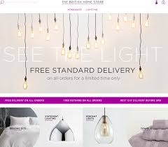 British Home Stores Lighting Chandeliers Bhs Is Back British Home Store Relaunches Online Selling Bedding
