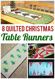 8 table runner patterns that stitch up