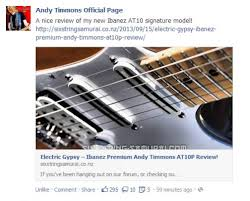 any andy timmons fans in the house ibanez at10p