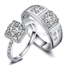 engagement rings for couples engravable 2 carats synthetic diamond designers engagement gold