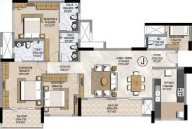 3bhk Home Design by Prestige Home Plans Christmas Ideas The Latest Architectural
