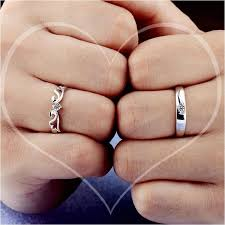 couples wedding rings crown band silver wedding rings for womenitems