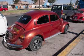 old porsche spoiler vw buses and beetles in peru lima arequipa cusco classiccult
