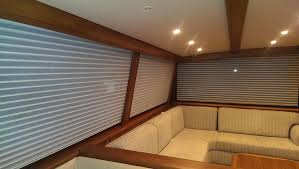 Blind And Shade Custom Window Blinds For Boats Yacht Curtains Cabin Shades