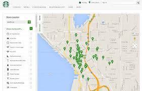 Starbucks Map Best Practices For Adding A Store Locator To Your Site