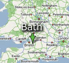 map uk bath our area property finders bath bath and country property finders