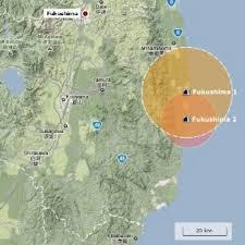 Fukushima Radiation Map Second Deadly Radiation Reading At Fukushima Plant Eco News